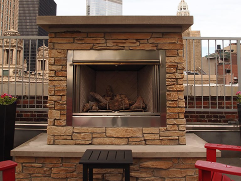Outdoor Fireplaces Are The Trend In Northeast Ohio Ohio Beauty